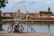 The 'pink city' of Toulouse