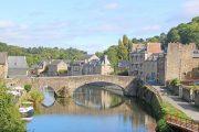 Bridge over the River Rance, Dinan