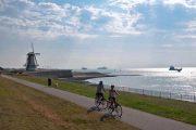 Cycling through Vlissingen, Zeeland