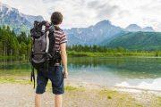 Hiking at Lake Almsee
