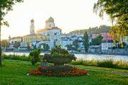 Passau; the 'city of three rivers'