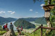 The 'Schlögener Schlinge' (Schloegen River Bend) (c) Donau Oberoesterreich Tourismus Gmbh / Ralf Hochhauser