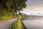 The Danube cycle path, Grein (c) Oesterreich Werbung / Peter Burgstaller