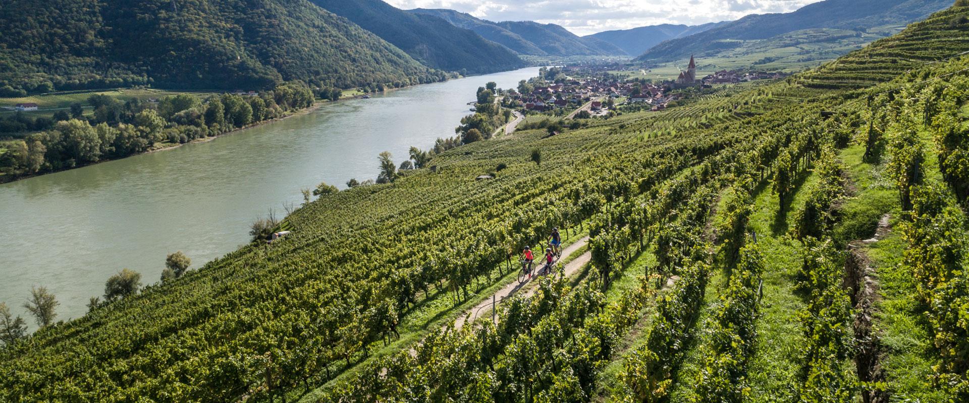 Danube cycling: Passau to Vienna