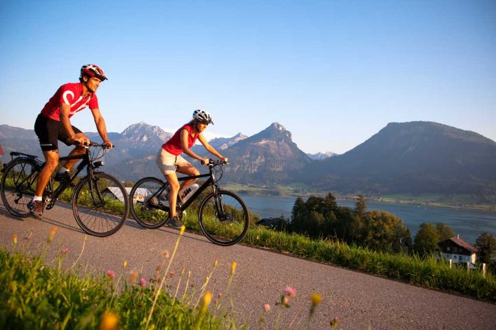 Salzkammergut cycling holiday © OÖ. Tourismus Erber