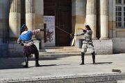 Blois fencing demonstration