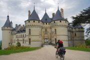 Cycling in the Loire; Chateau de Chaumont