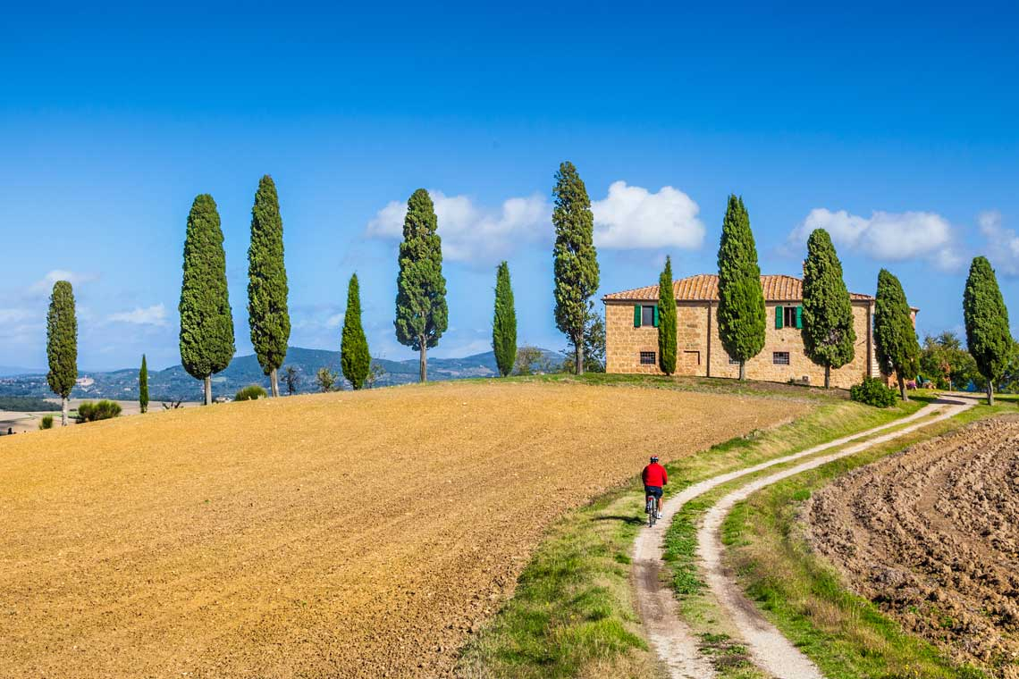 Val d'Orcia Tuscany cycling holiday