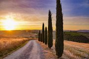 Val d'Orcia sunset, CC Francesca Franchini