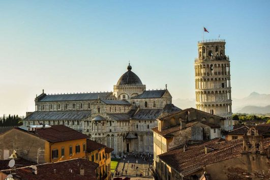 Cycling from Pisa to Florence