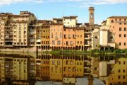 Reflections on the river, Florence