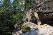 Hiking in the Saxon Switzerland National Park
