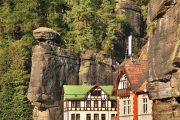 Hrsenko village, Bohemian Saxony