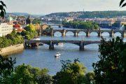 The many bridges of Prague