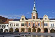 The old town of Mělník, Bohemia