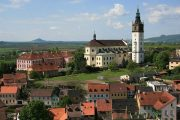 The beautiful historic city of Litoměřice