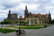 The historic centre of Dresden