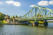 Cross the famous Glienlicker Bridge to Berlin