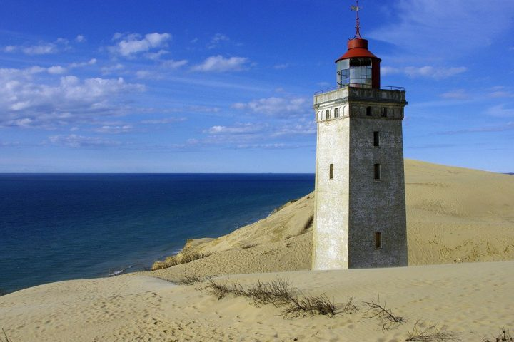 Denmark's North Sea Trail Rubjerg Lighthouse
