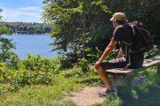 Enjoying the view to Furesøbad