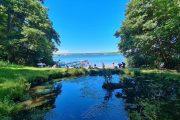 Bathing area at Lake Sjælsø