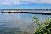Bathing at Lake Esrum