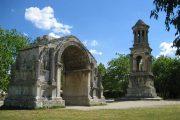 Roman remains at Glanum archaological site, St. Remy de Provence
