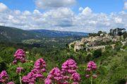 The pretty hilltop village of Bonnieux