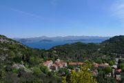Mljet island, view back to the Croatian mainland