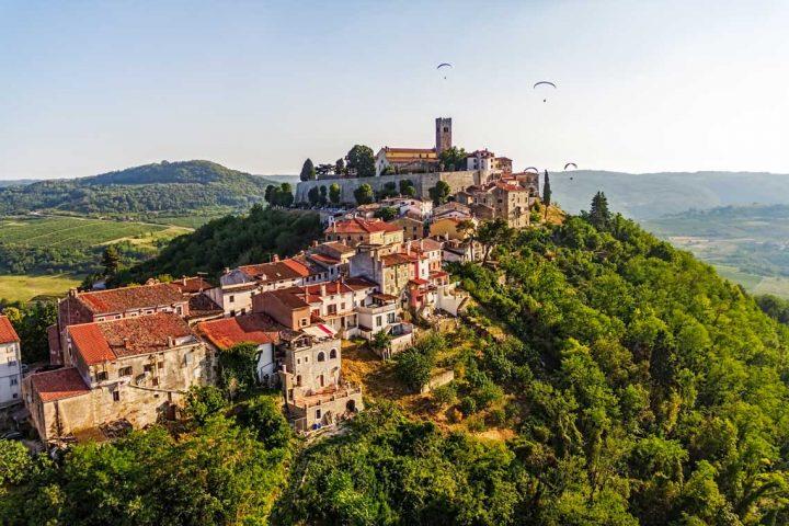 Istria walking holiday Motovun