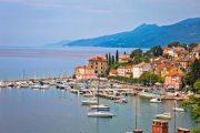 The elegant seaside resort of Opatija