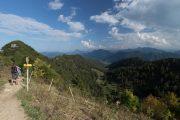Hiking on the Hochfelln