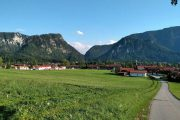 The health resort town of Inzell