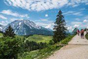 Hiking in the Berchtesgadener Alps