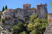 The medieval hilltop town of Vaison-la-Romaine