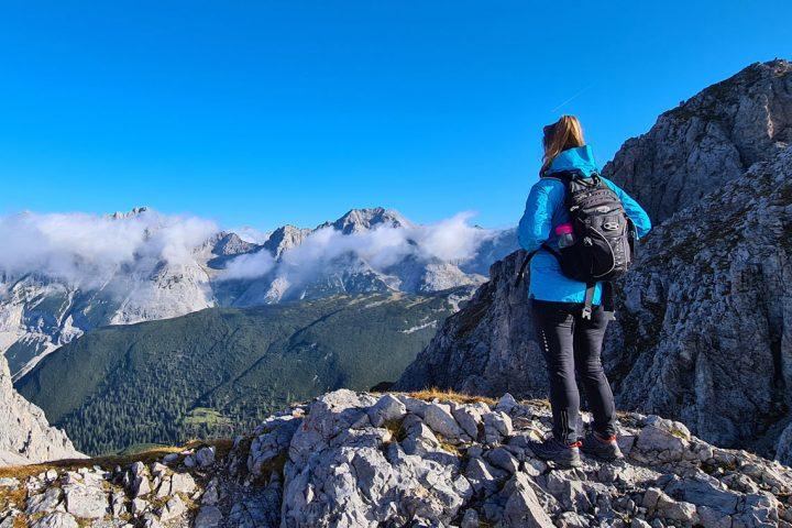 Tirolerweg hiking in the Austrian Tyrol