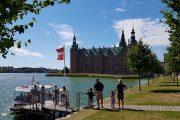 Boat tour at Frederiksborg Castle