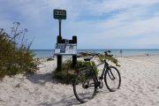 Bike on Nivå beach