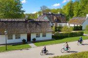 Cycling in Fredriksborg Castle Gardens