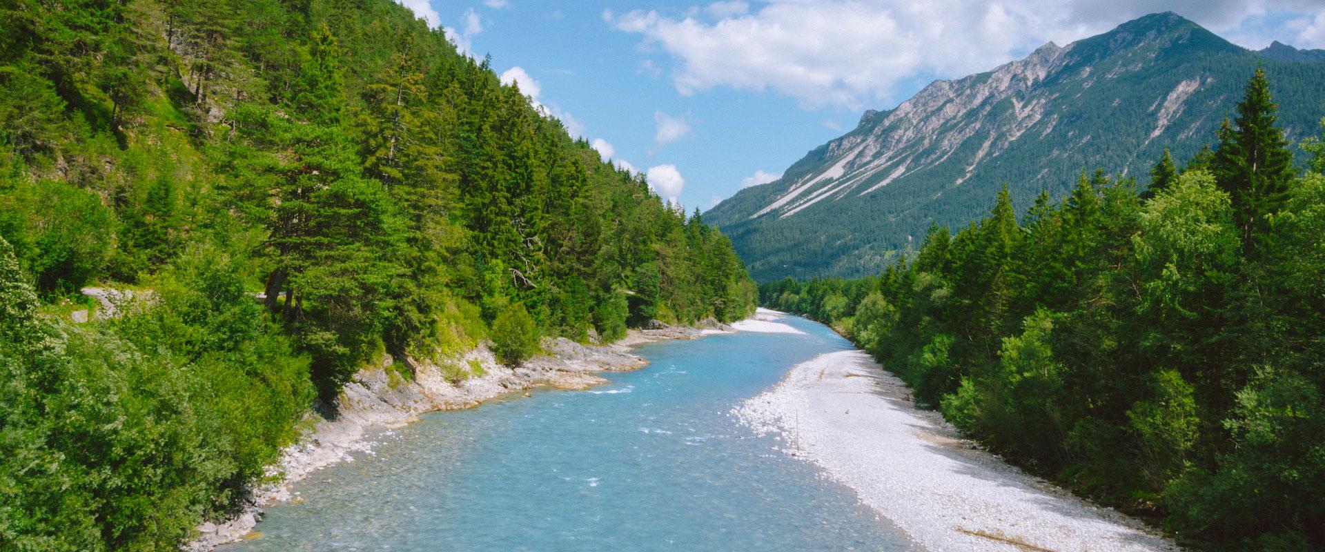 Alps: Lech River Trail