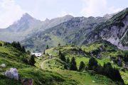 Lech am Arlberg Alpine landscape