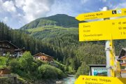 The Lechweg is well signposted throughout