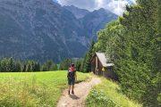 Hiking along the Lechweg