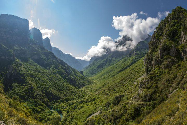 the Vikos Gorge, Zagori