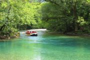 Kayakers on the Voidomatis river