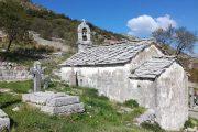 Stone chapel along the Ciro Bike Path