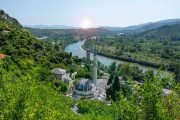 Pocitelj village on the Neretva river