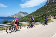 Cycling on Croatia's Adriatic coast