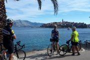 Cycling on Korcula island