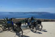 Cycling with stunning Adriatic views!